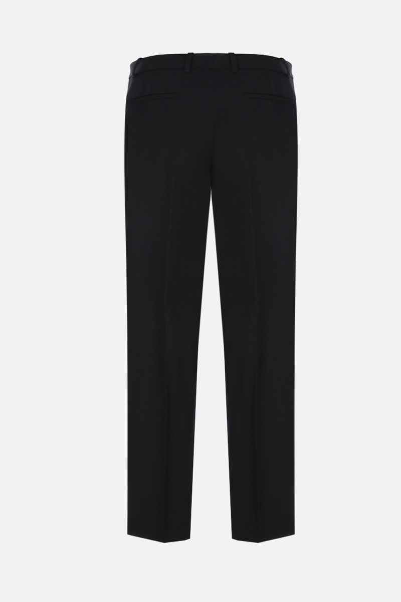 GIVENCHY: wool slim-fit pants Color Black_2
