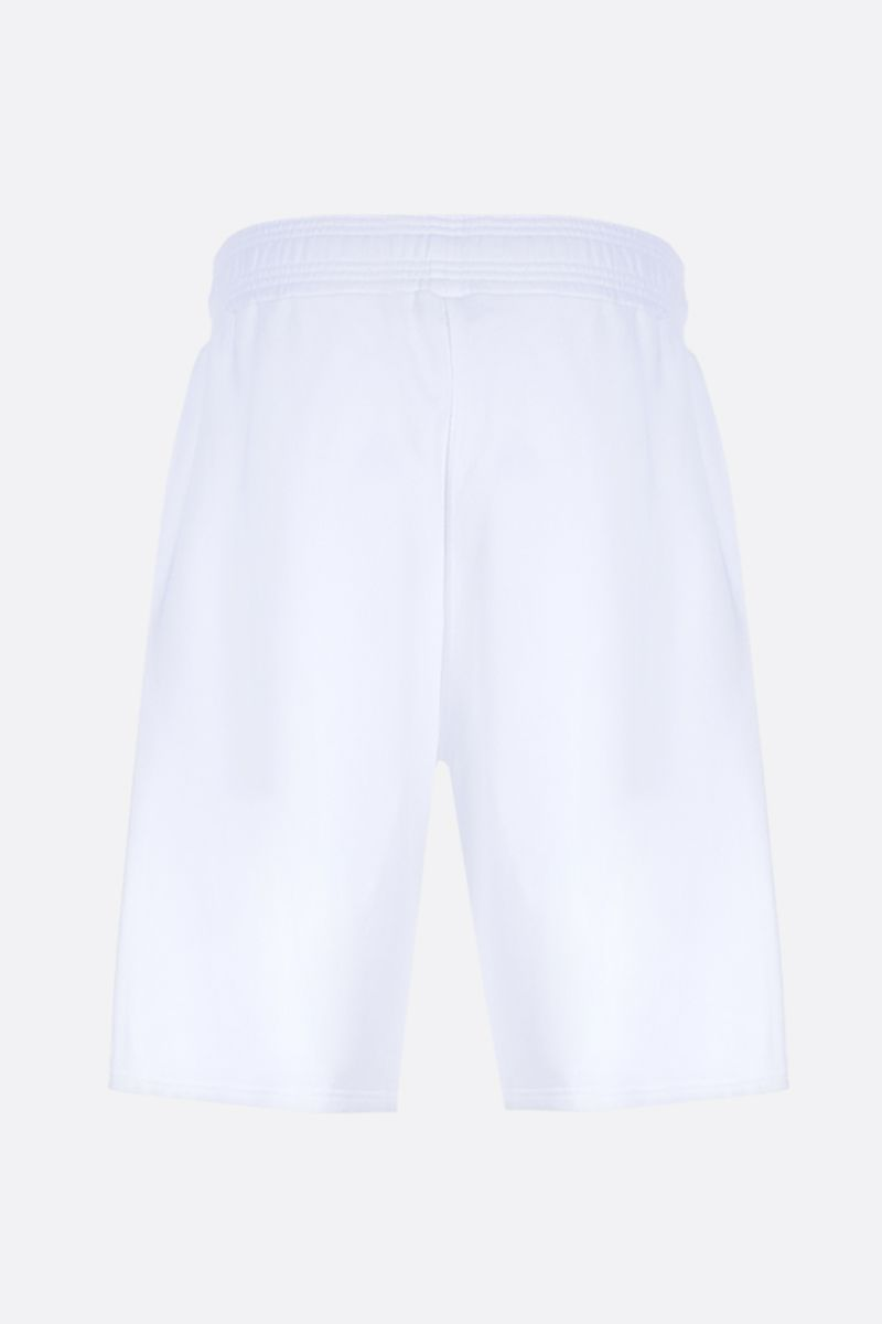 GIVENCHY: Givenchy Multicolour cotton shorts Color White_2