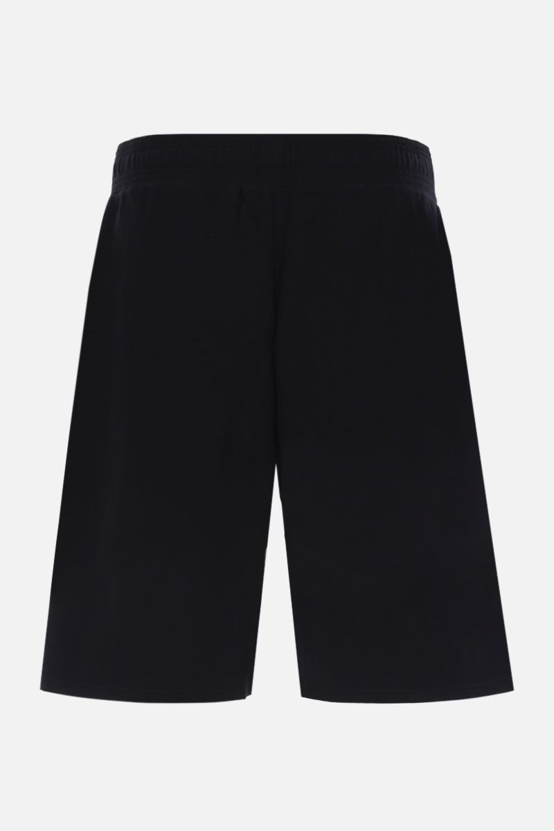 GIVENCHY: Givenchy Paris cotton shorts Color Black_2
