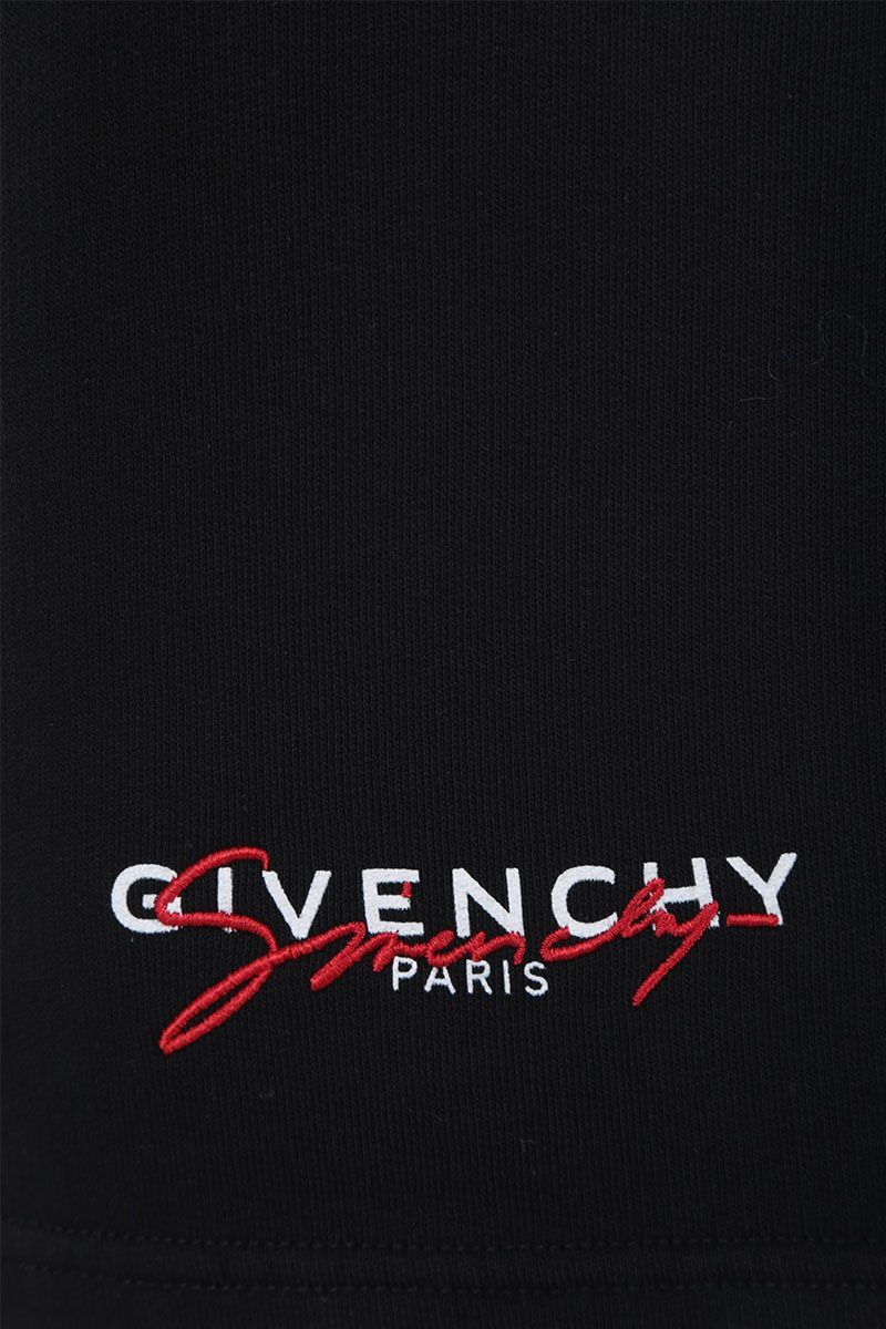 GIVENCHY: Givenchy Paris cotton shorts Color Black_3