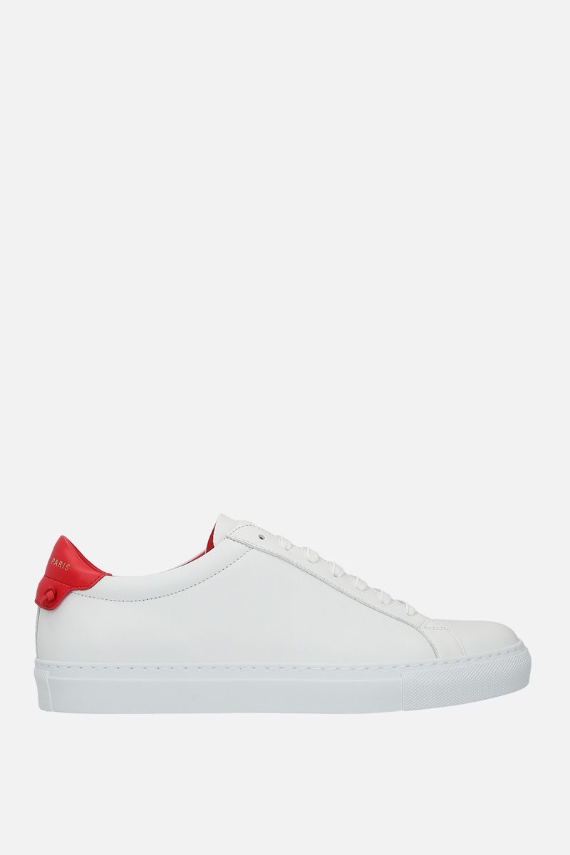 GIVENCHY: Urban Street sneakers in smooth leather Color White_1