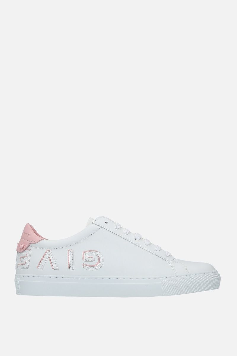 GIVENCHY: sneaker Urban Street in pelle liscia Colore Rosa_1