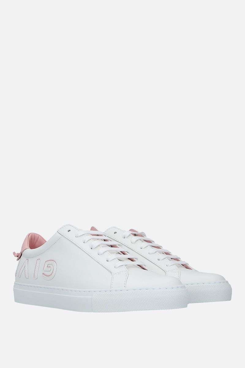 GIVENCHY: sneaker Urban Street in pelle liscia Colore Rosa_2