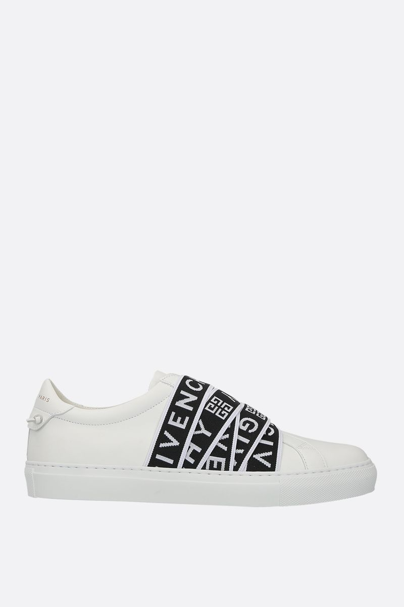 GIVENCHY: Urban Street sneakers in smooth leather Color Black_1