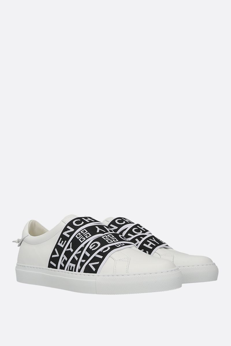 GIVENCHY: Urban Street sneakers in smooth leather Color Black_2