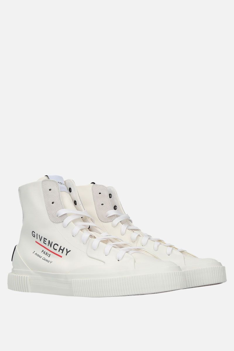 GIVENCHY: Tennis Light canvas sneakers Color White_2