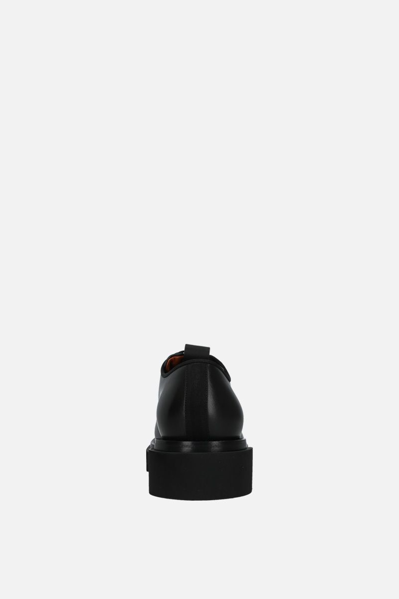 GIVENCHY: brushed calf derby shoes Color Black_4