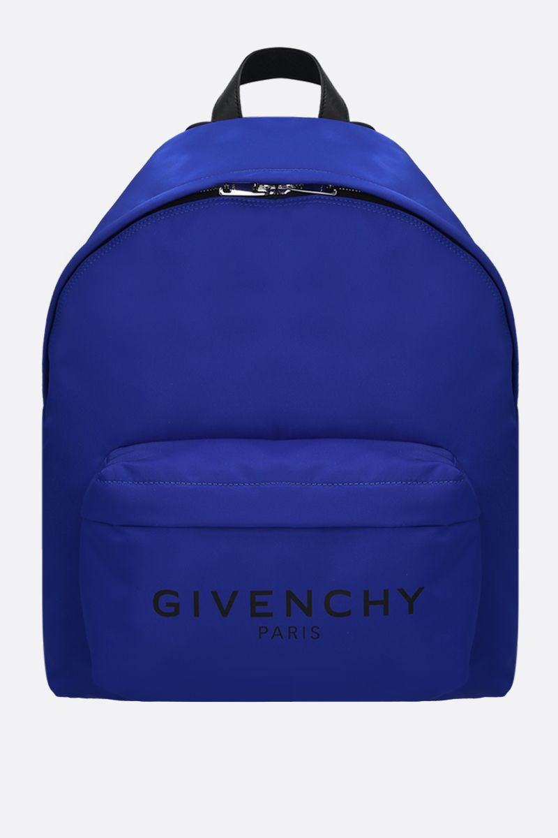 GIVENCHY: zaino Urban in nylon Colore Blu_1