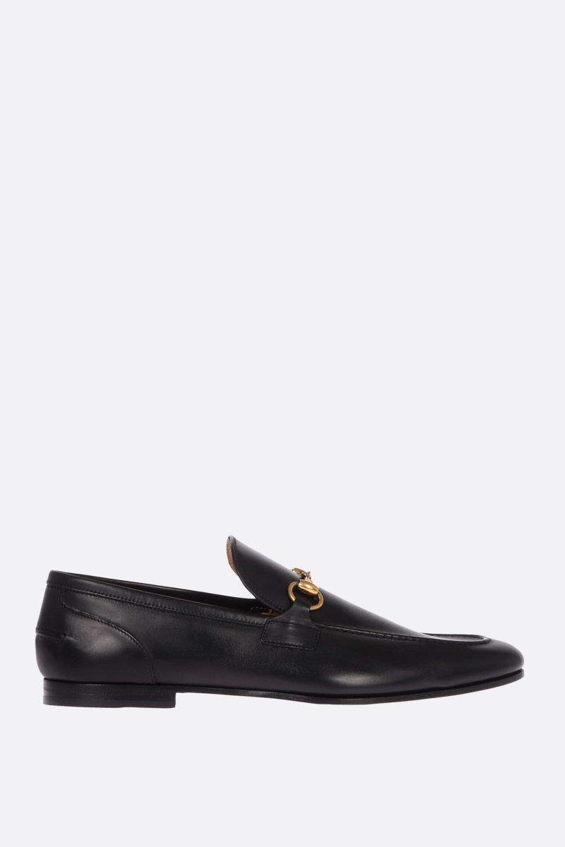 GUCCI: Jordan loafers in shiny leather Color Black_1