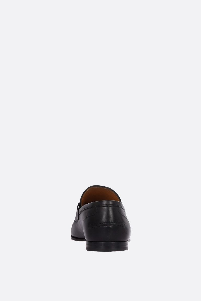 GUCCI: Jordan loafers in shiny leather Color Black_3