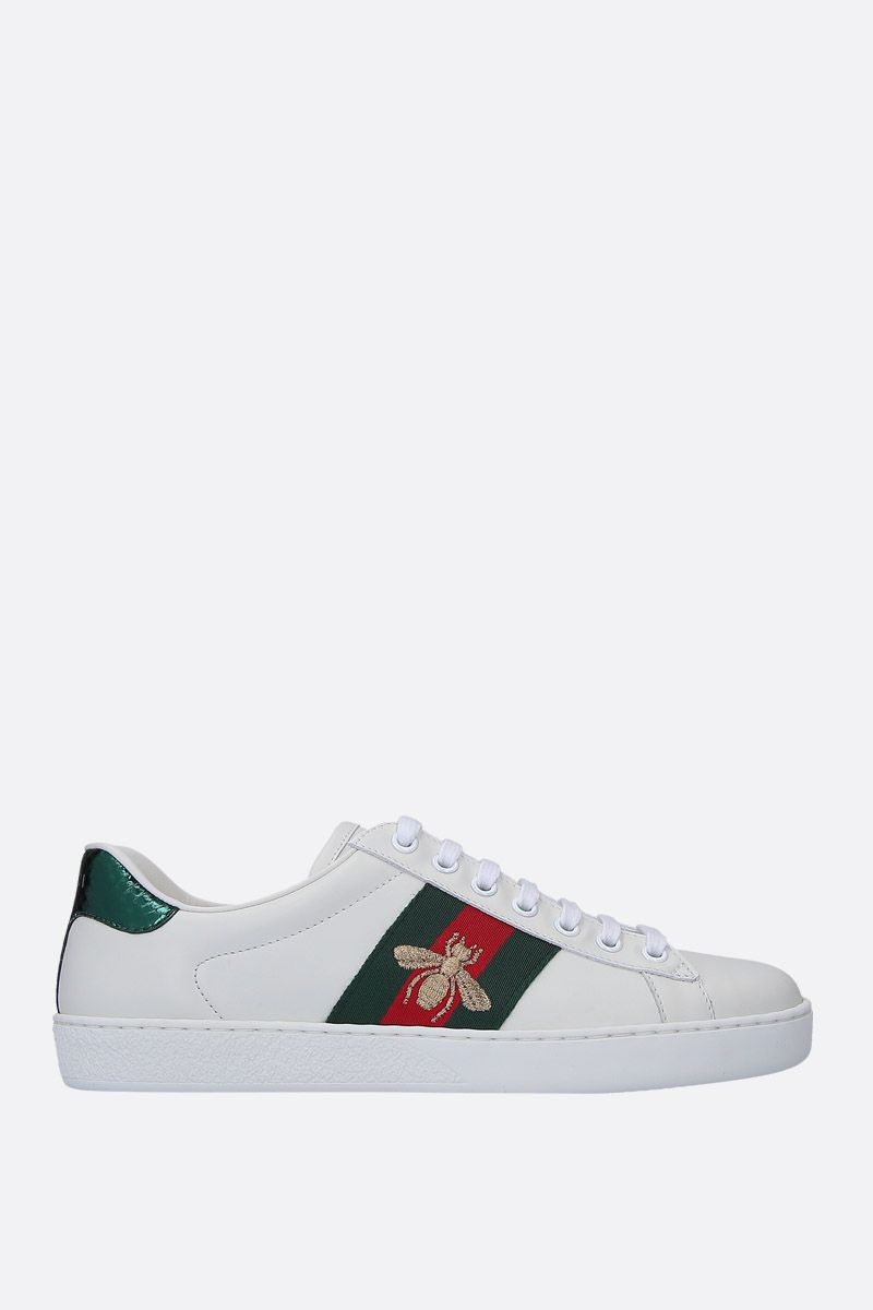 GUCCI: Ace low-top sneakers in smooth leather_1