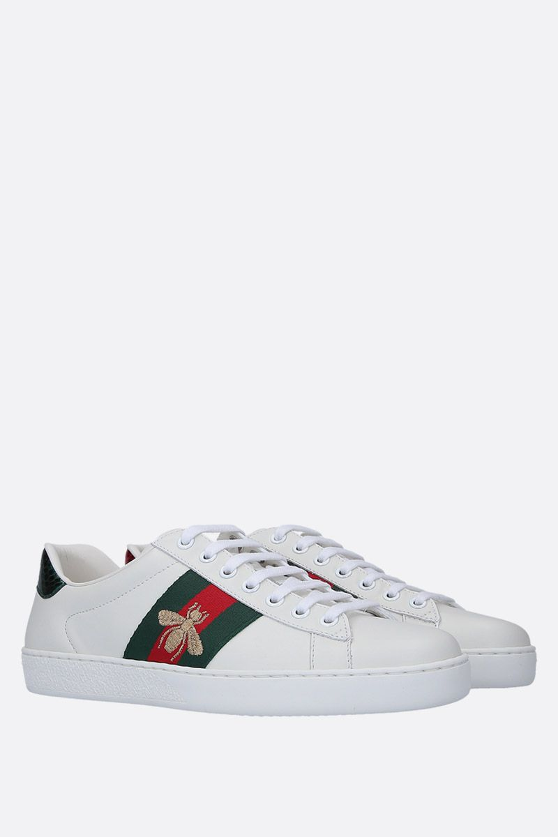 GUCCI: Ace low-top sneakers in smooth leather_2