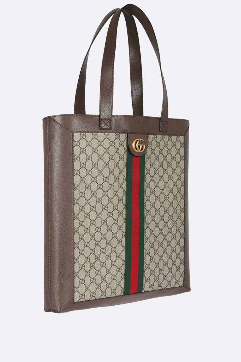 GUCCI: borsa shopping Ophidia GG Supreme Colore Multicolore_2