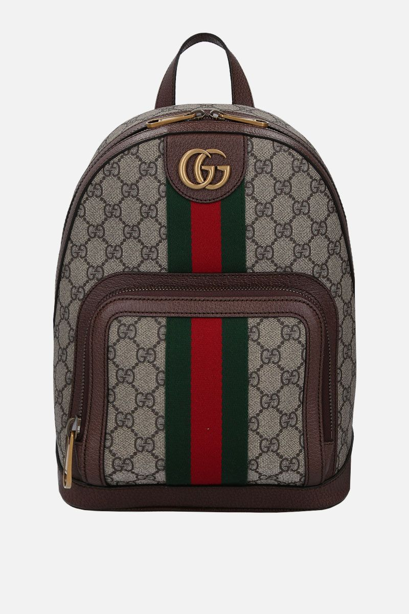 GUCCI: small Ophidia backpack in GG Supreme canvas Color Multicolor_1