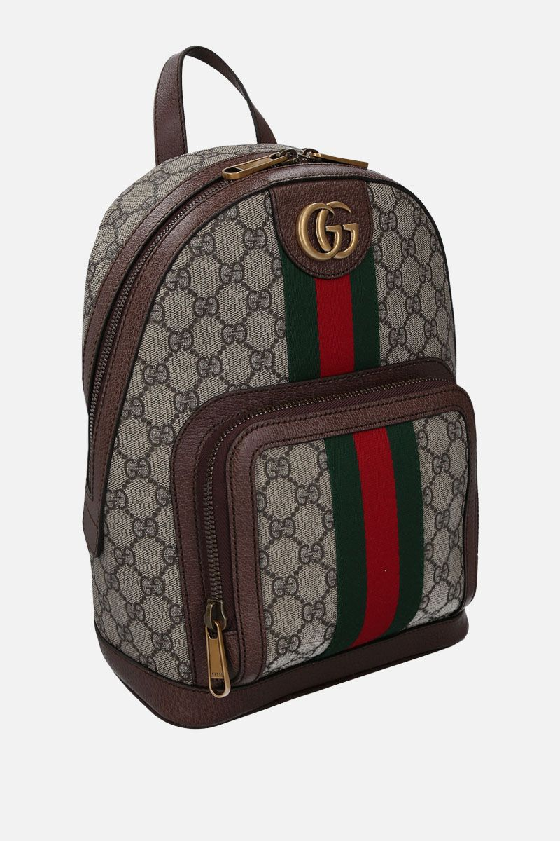 GUCCI: small Ophidia backpack in GG Supreme canvas Color Multicolor_2