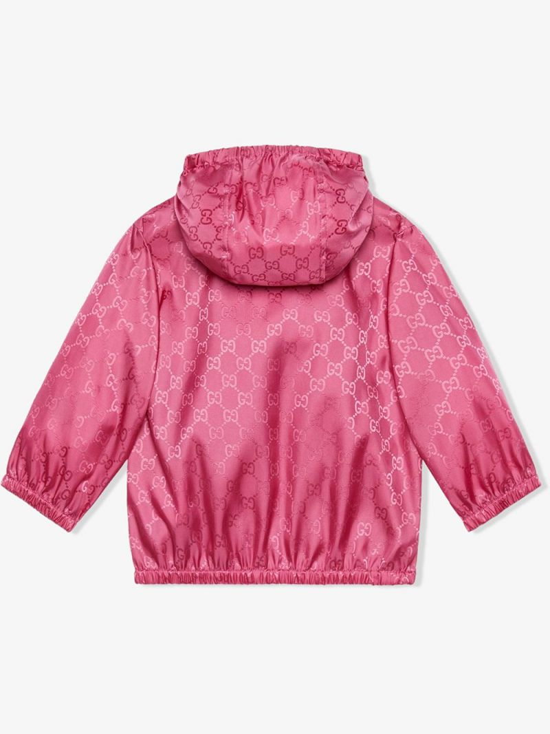 GUCCI CHILDREN: GG nylon bomber jacket_2