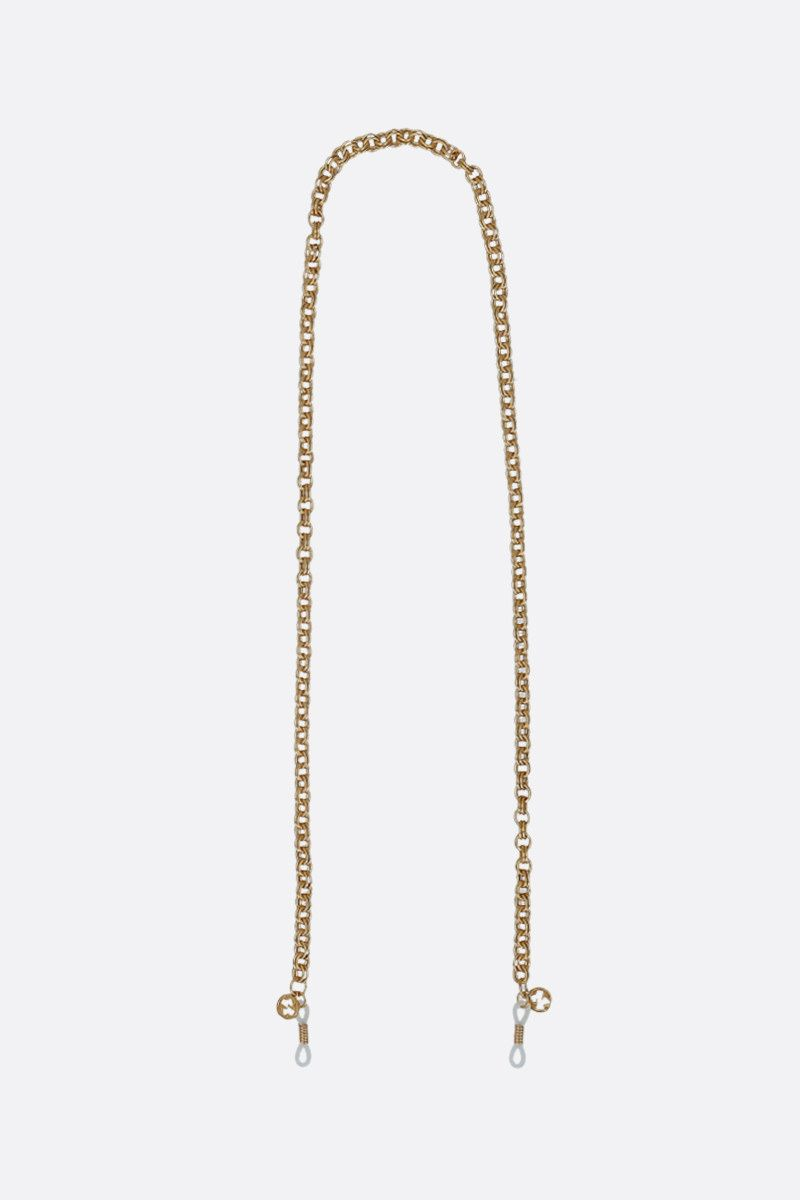 GUCCI: metal glasses chain Color Gold_1