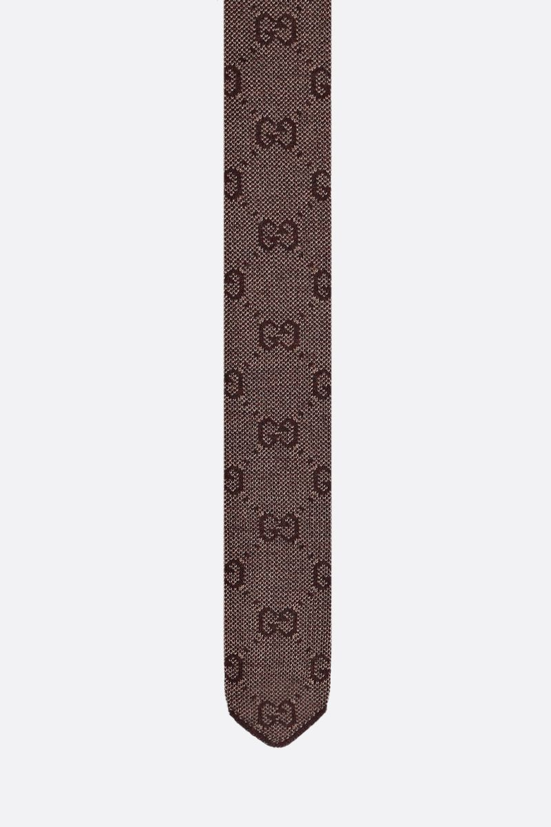 GUCCI: GG wool tie_1