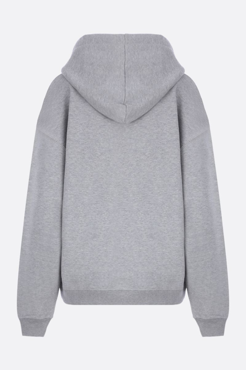 GUCCI: Gucci vintage logo star print cotton oversized hoodie Color Grey_2