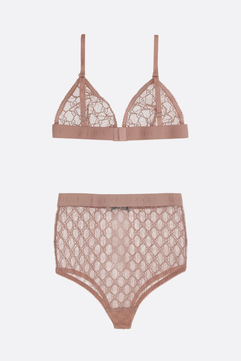 GUCCI: GG tulle lingerie set_2