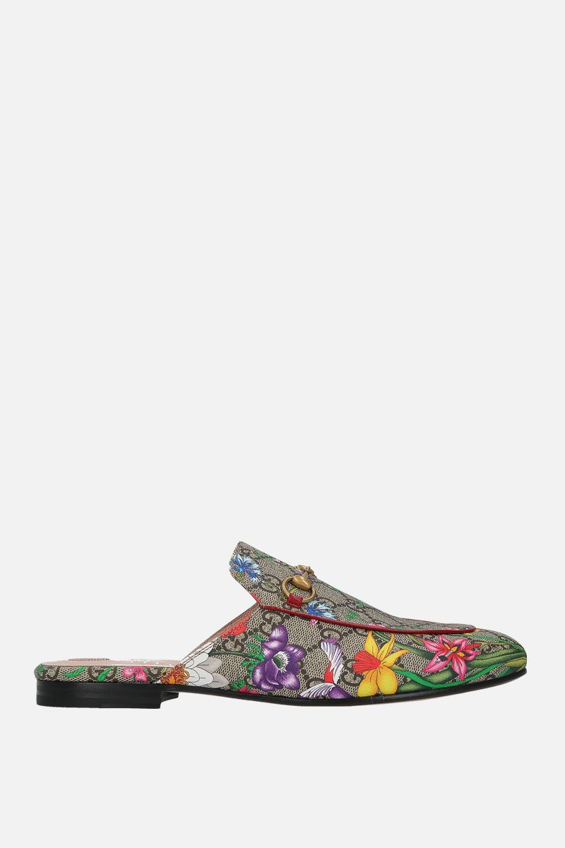 GUCCI: Princetown slippers in GG Supreme canvas_1