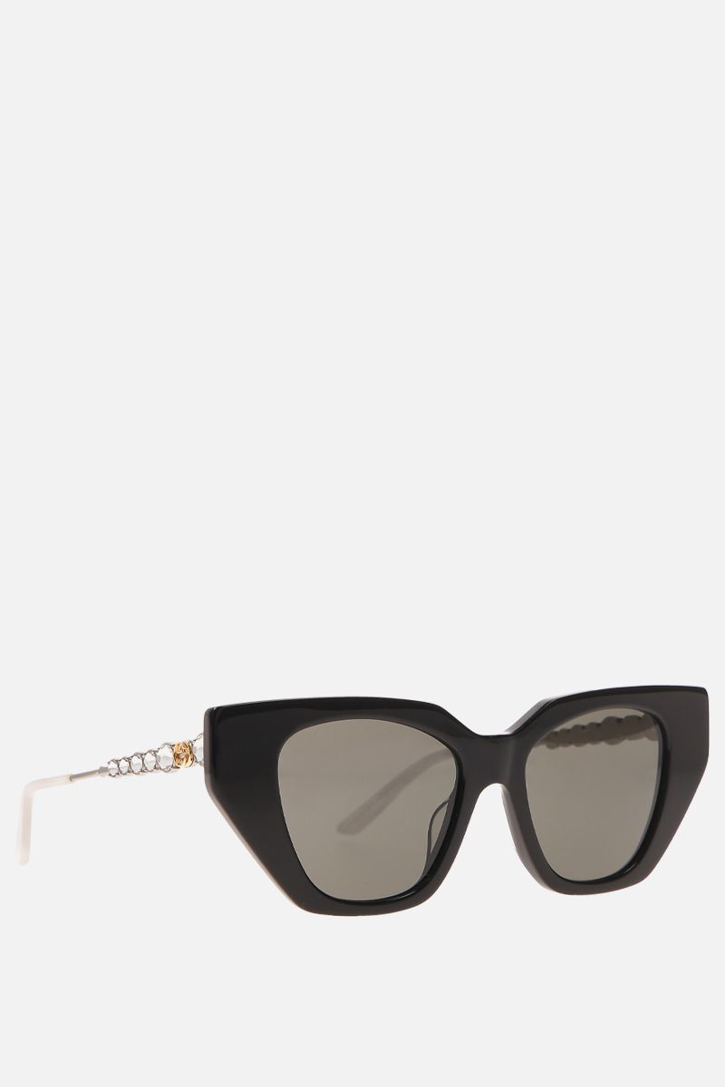 GUCCI: cat-eye acetate sunglasses_2