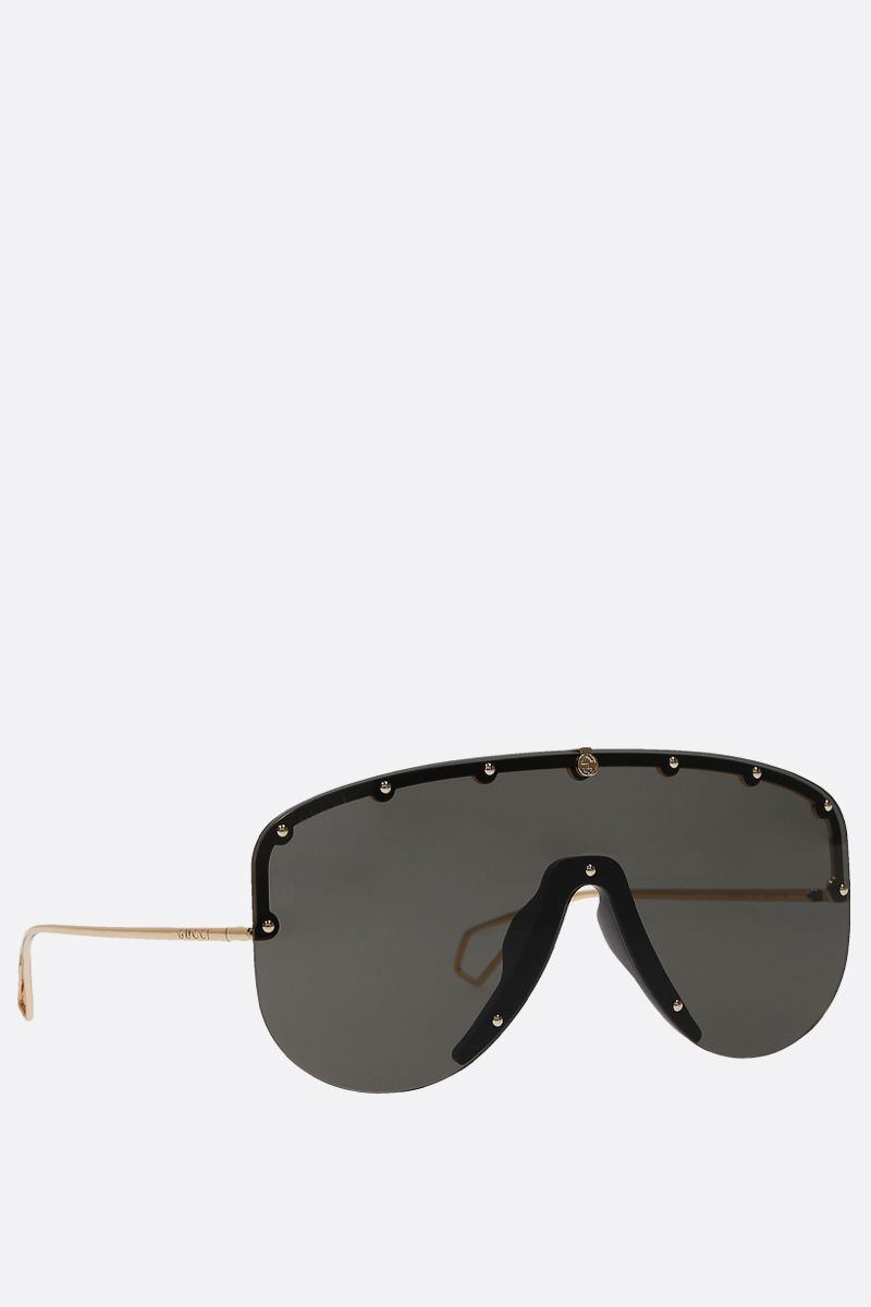 GUCCI: metal musk sunglasses Color Gold_2