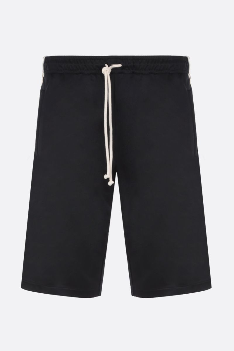 GUCCI: technical jersey oversized shorts Color Multicolor_1