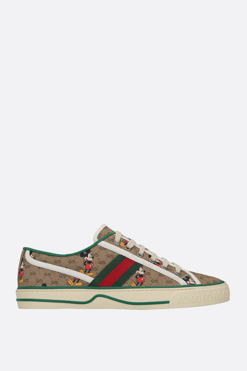 GUCCI: Gucci Tennis 1977 canvas sneakers Color Multicolor_1
