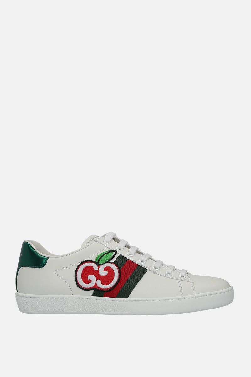 GUCCI: Ace sneakers in smooth leather_1