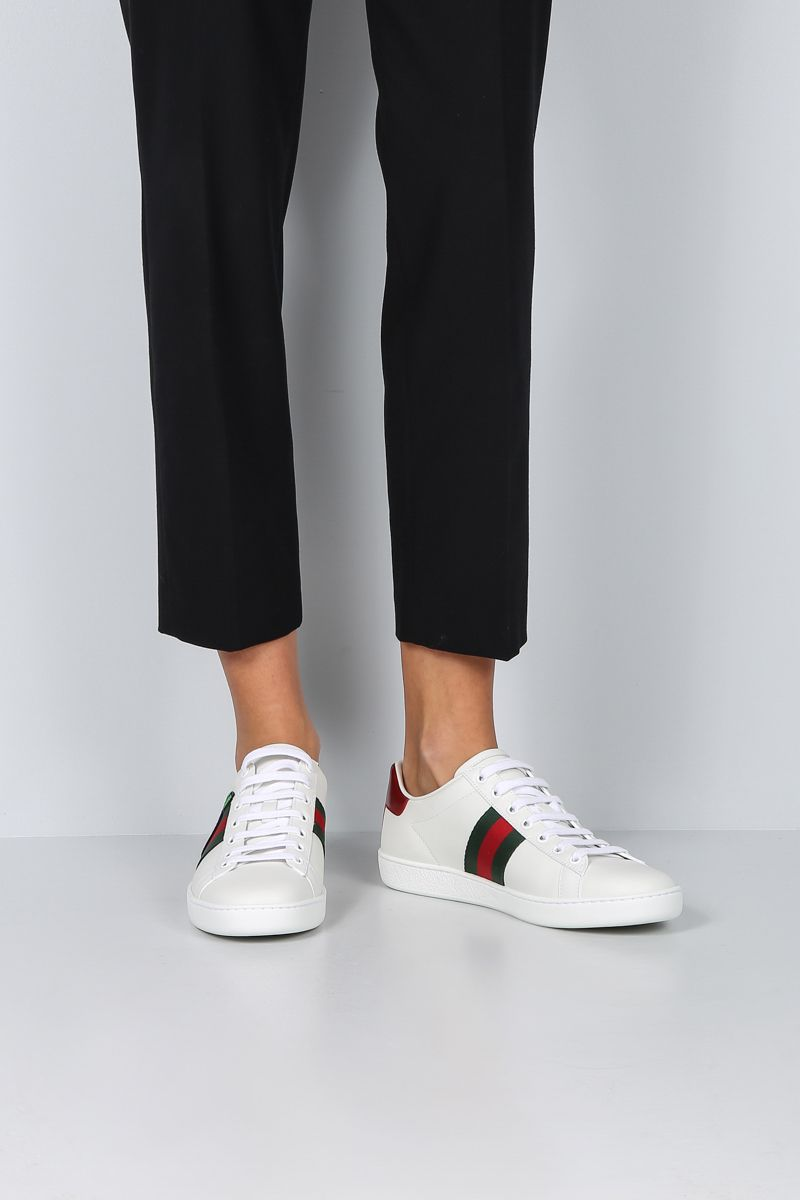 GUCCI: Ace sneakers in smooth leather_2