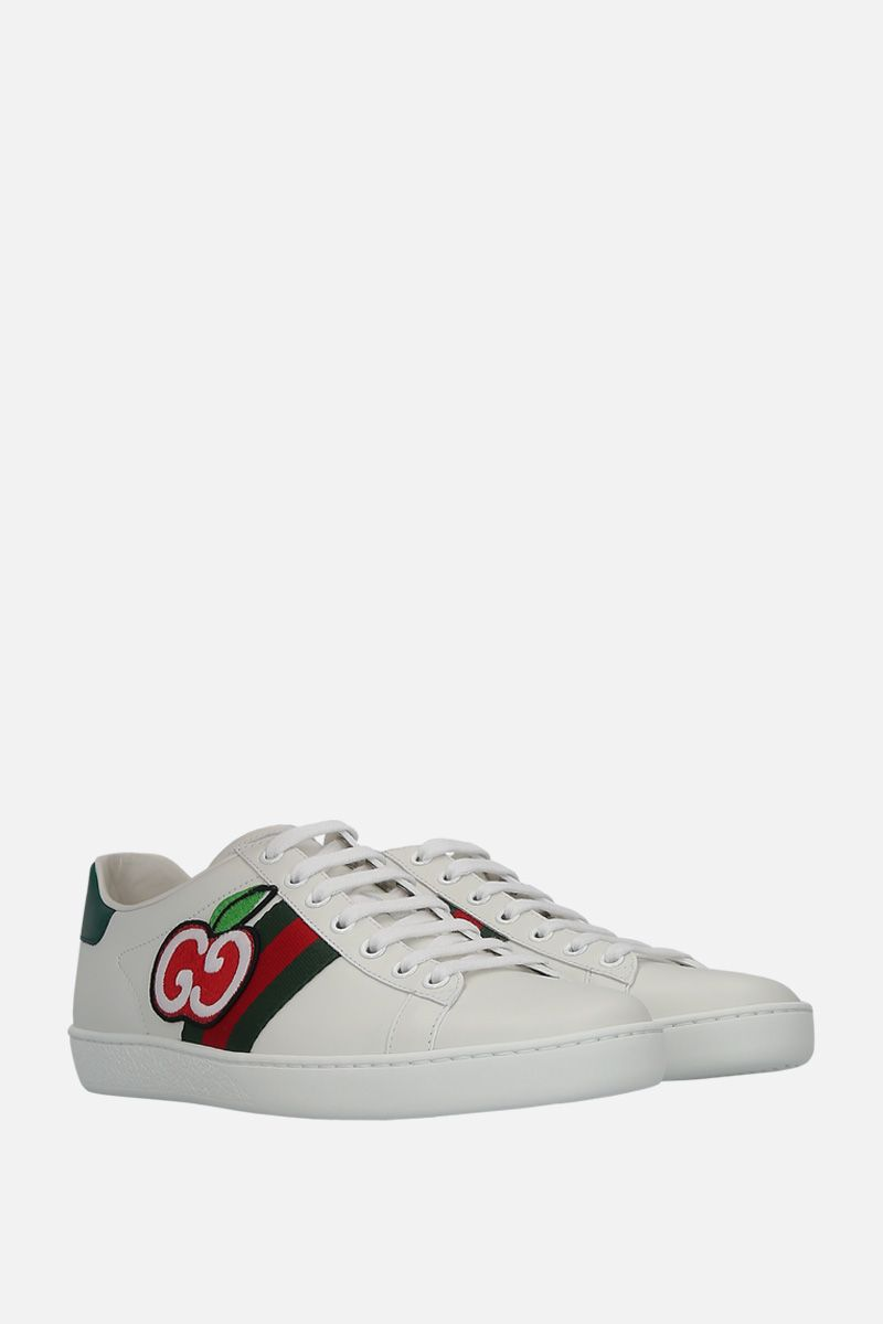 GUCCI: Ace sneakers in smooth leather_3