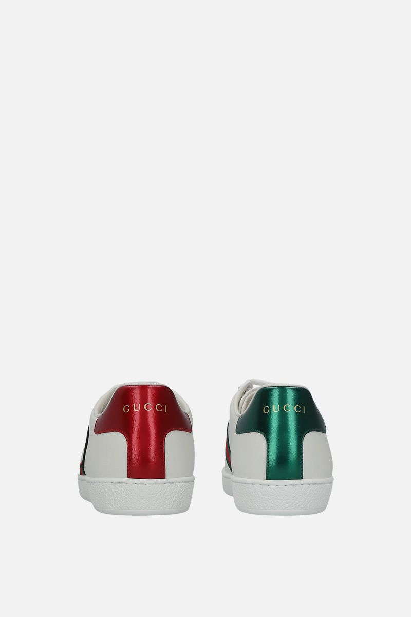 GUCCI: Ace sneakers in smooth leather_4