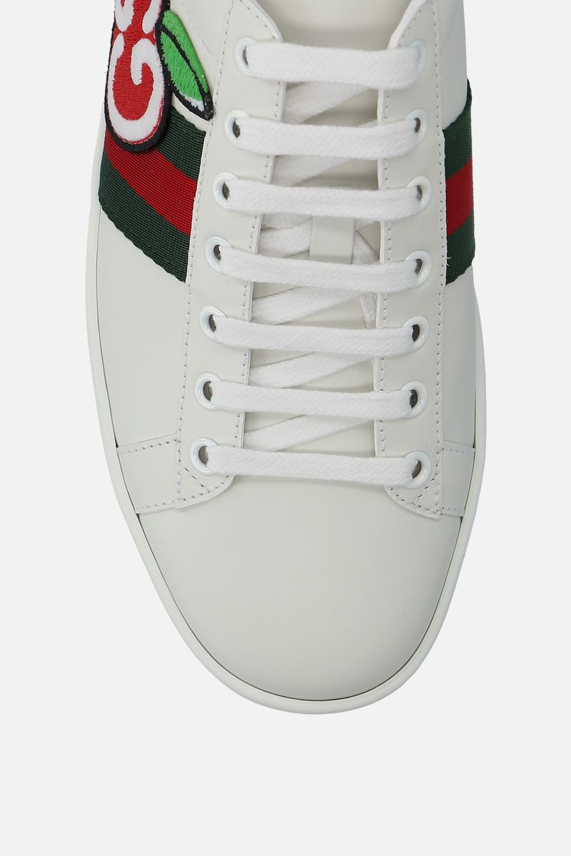 GUCCI: Ace sneakers in smooth leather_5