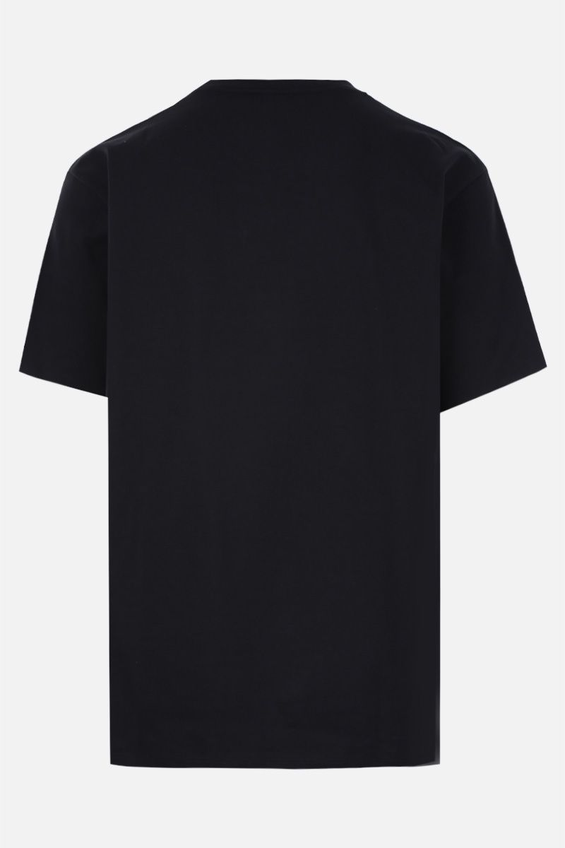 GUCCI: Gucci Boutique print cotton oversize t-shirt Color Black_2