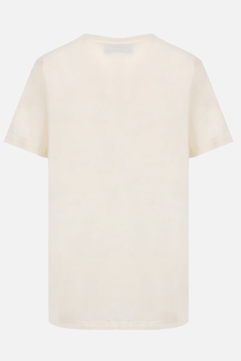 GUCCI: Gucci Band print cotton oversized t-shirt Color White_2