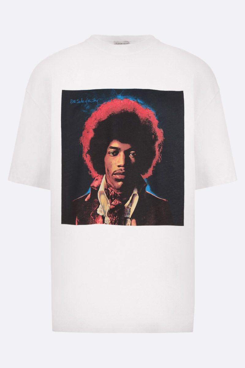 IH NOM UH NIT: t-shirt oversize in jersey stampa Hendrix Sky Colore Bianco_1