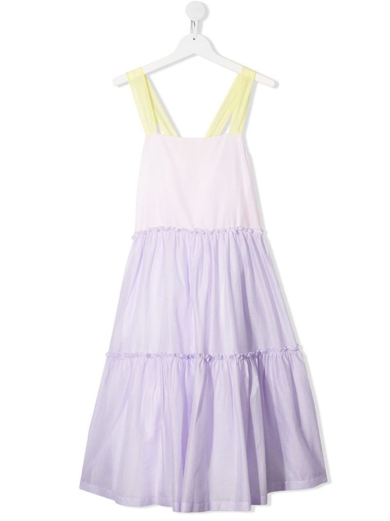 IL GUFO: cotton voile flounced dress_1