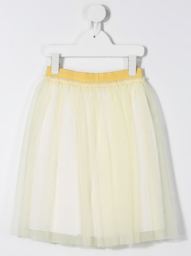 IL GUFO: tulle skirt Color Yellow_2