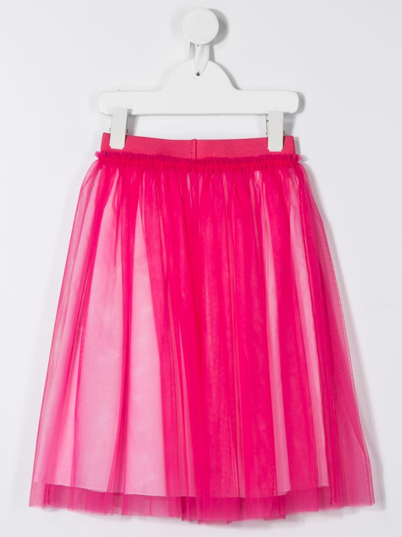 IL GUFO: tulle skirt Color Red_2