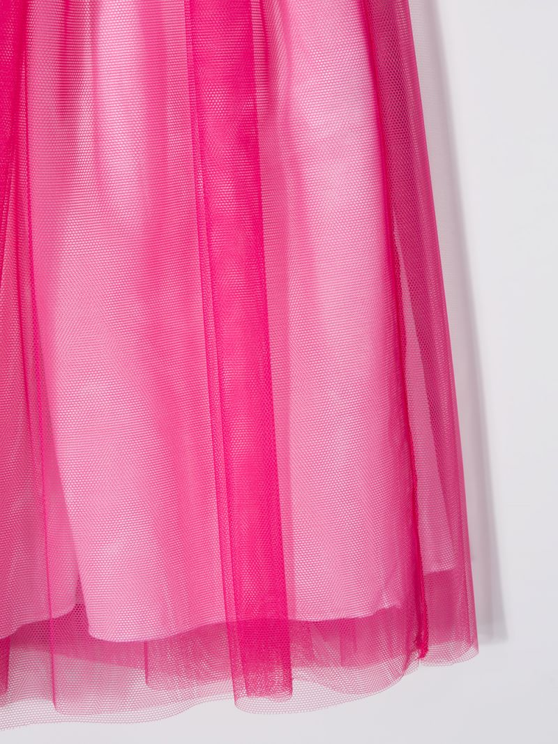 IL GUFO: tulle skirt Color Pink_3