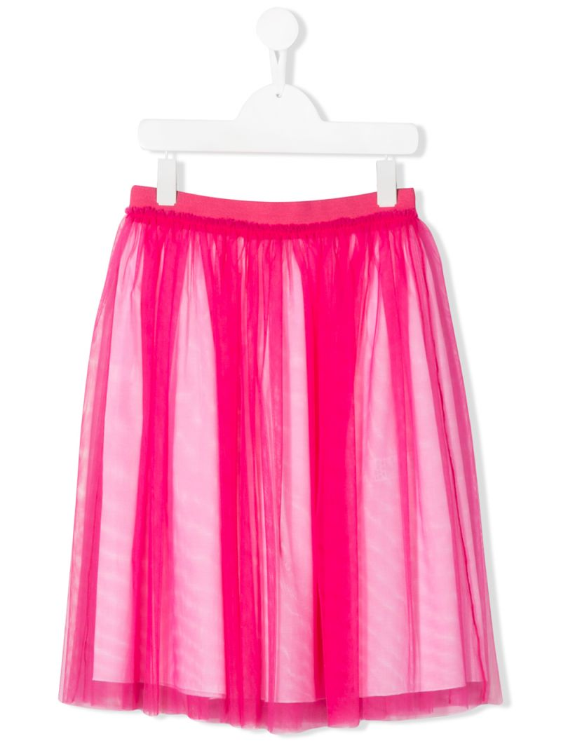IL GUFO: tulle skirt Color Pink_1