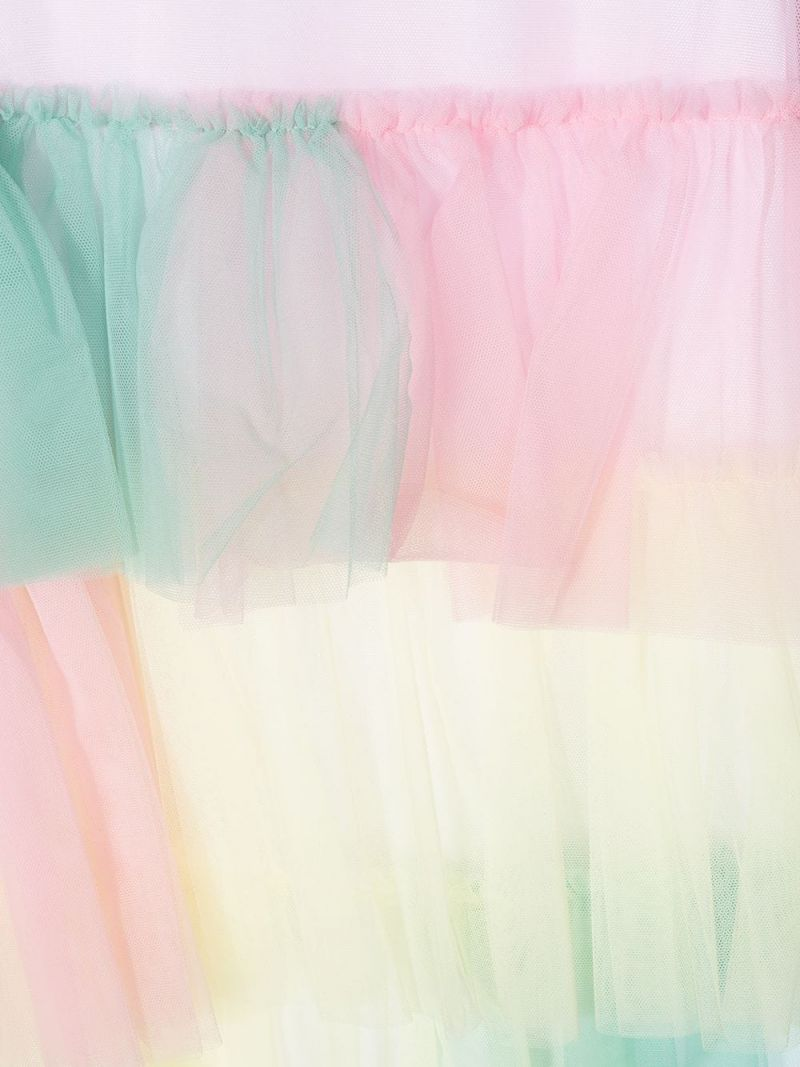IL GUFO: tulle sleeveless dress Color Pink_3