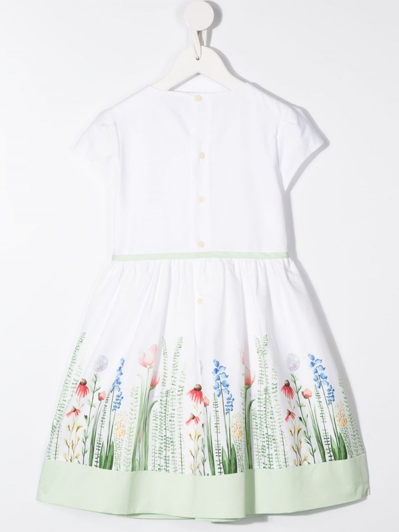 IL GUFO: floral print cotton dress_2