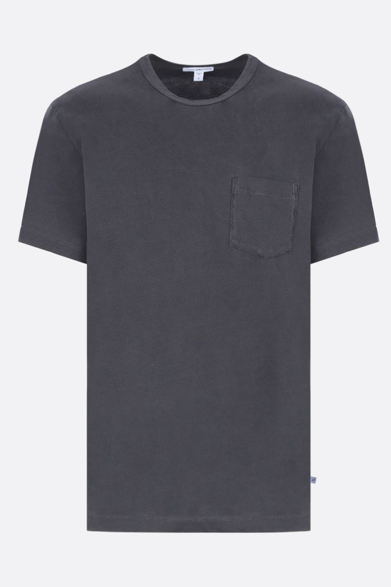 JAMES PERSE: t-shirt regular-fit in jersey di cotone Colore Nero_1