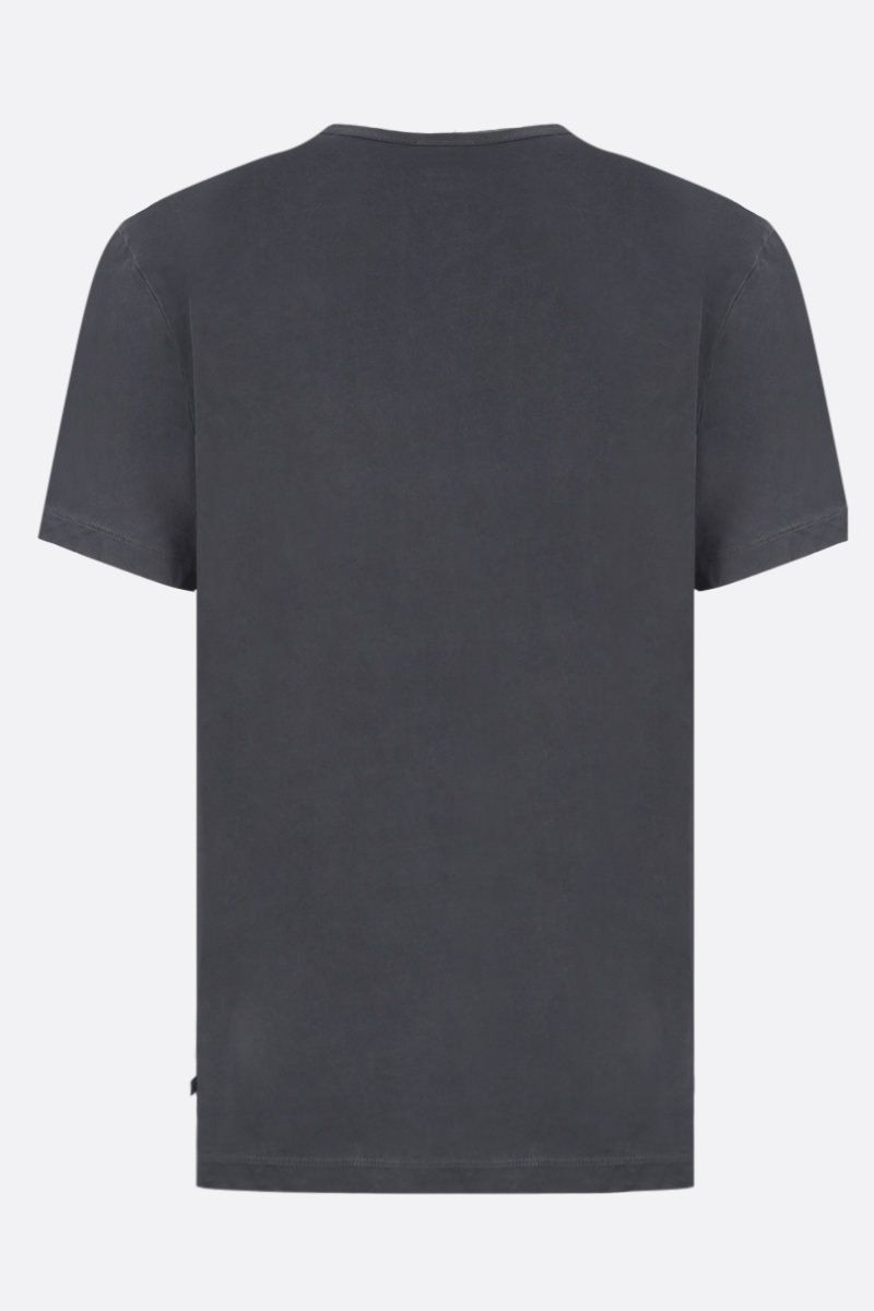 JAMES PERSE: t-shirt regular-fit in jersey di cotone Colore Nero_2