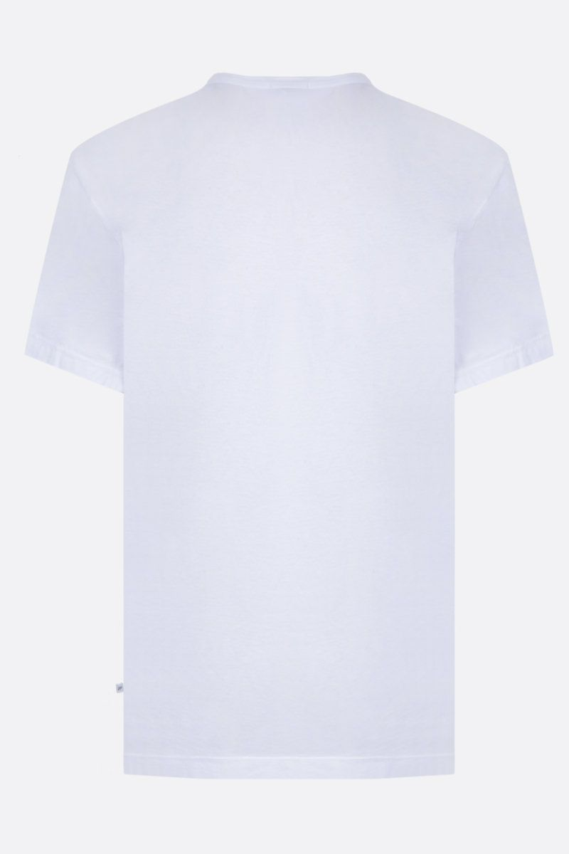 JAMES PERSE: t-shirt regular-fit in jersey di cotone Colore Bianco_2