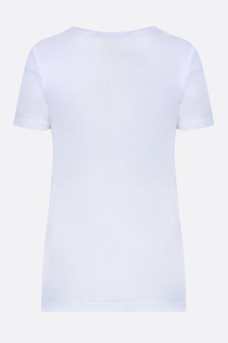 JAMES PERSE: cotton jersey slim-fit t-shirt Color White_2