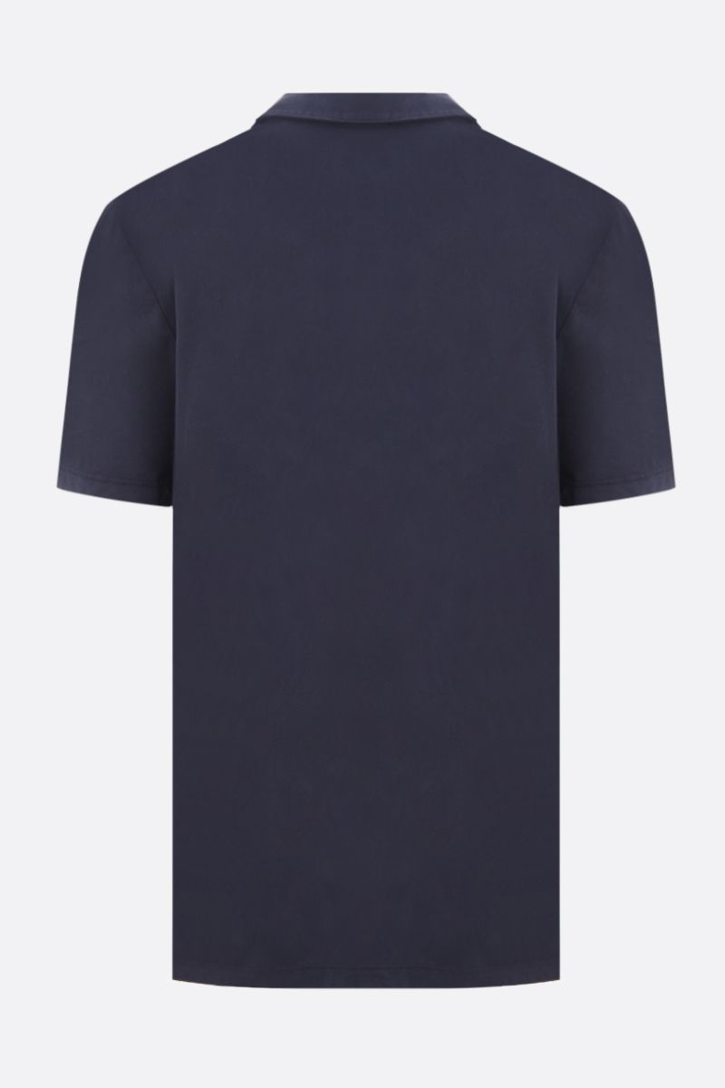 JAMES PERSE: cotton jersey regular-fit polo shirt Color Blue_2
