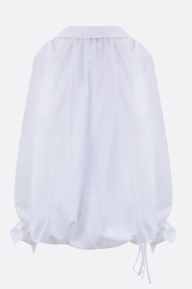 JEJIA: cotton poplin blouse Color White_2
